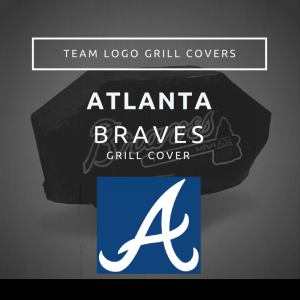 Atlanta Braves Team Logo Grill Covers