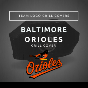 Baltimore Orioles Team Logo Grill Covers
