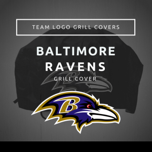 Baltimore Ravens Team Logo Grill Covers