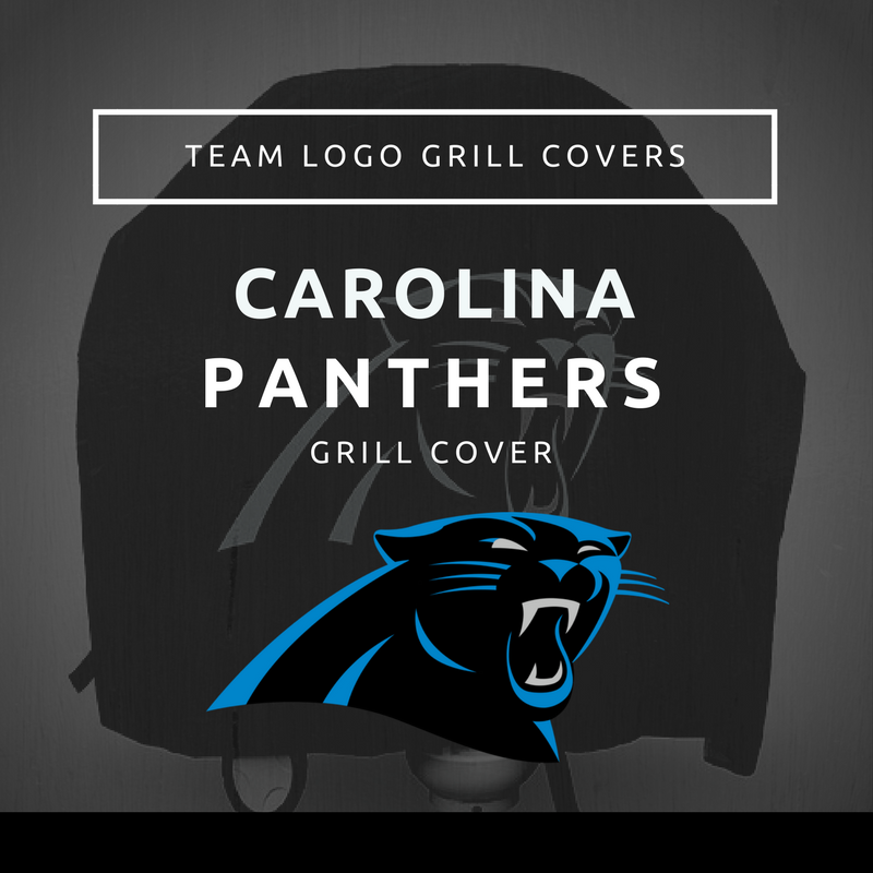 Carolina Panthers Grill Cover Team Logo Grill Covers