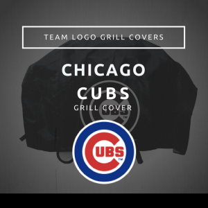 Chicago Cubs Team Logo Grill Covers