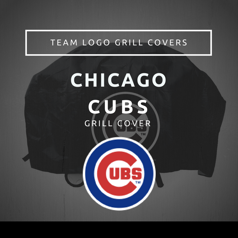 Chicago Cubs Grill Cover Team Logo Grill Covers
