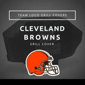 Cleveland Browns Team Logo Grill Covers