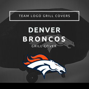 Denver Broncos Team Logo Grill Covers