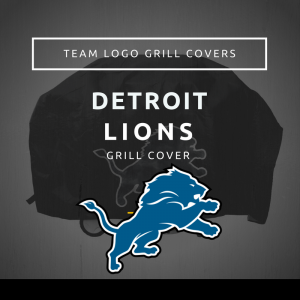 Detroit Lions Team Logo Grill Covers