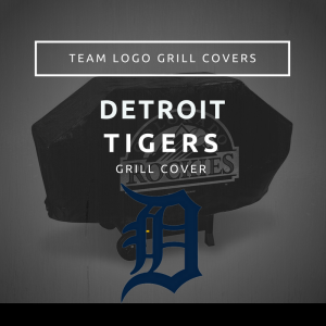 Detroit Tigers Team Logo Grill Covers