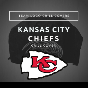 Kansas City Chiefs Team Logo Grill Covers