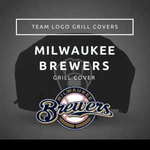 Milwaukee Brewers Team Logo Grill Covers