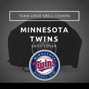 Minnesota Twins Team Logo Grill Covers