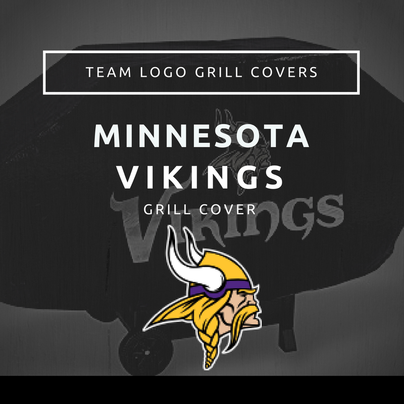 Minnesota Vikings Grill Cover Team Logo Grill Covers
