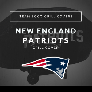 New England Patriots Team Logo Grill Covers