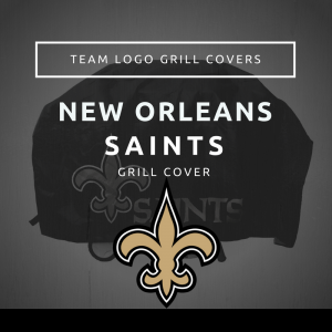 New Orleans Saints Team Logo Grill Covers