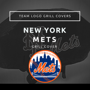 New York Mets Team Logo Grill Covers