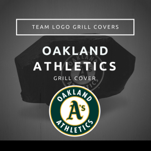 Oakland Athletics Team Logo Grill Covers