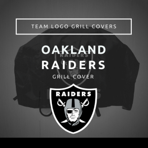 Oakland RaidersTeam Logo Grill Covers
