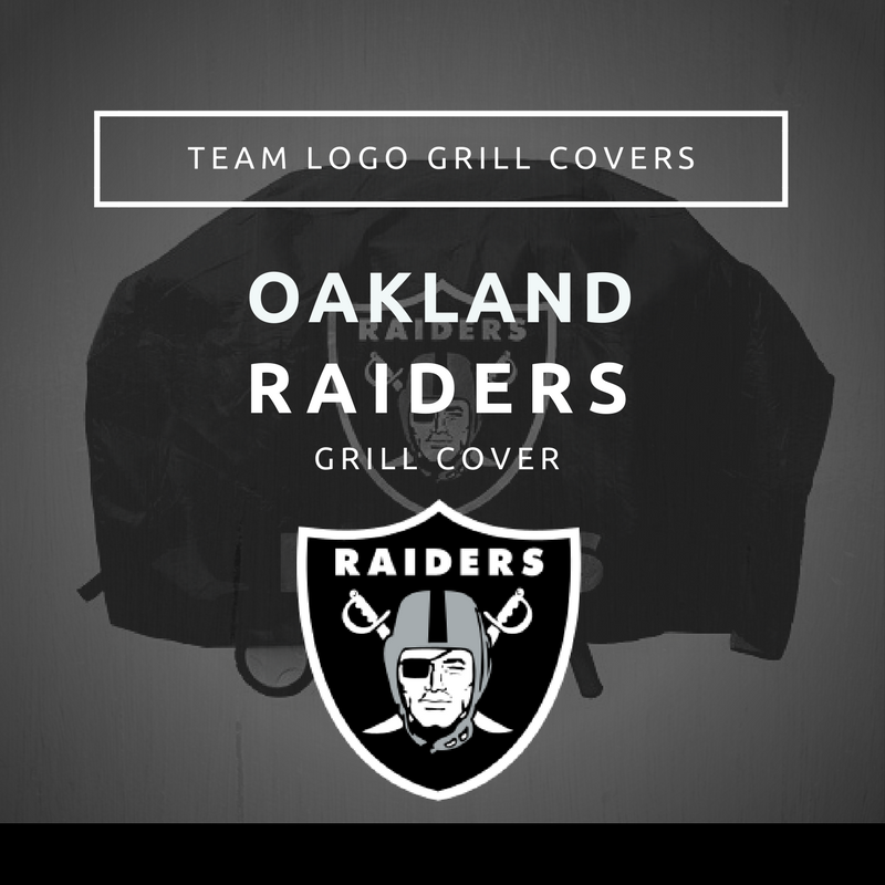 Oakland Raiders Grill Cover Team Logo Grill Covers