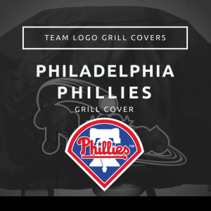 Phiadelphia Phillies Team Logo Grill Covers