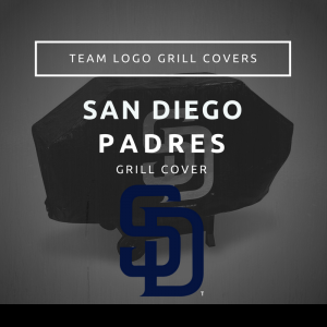 San Diego Padres Team Logo Grill Covers