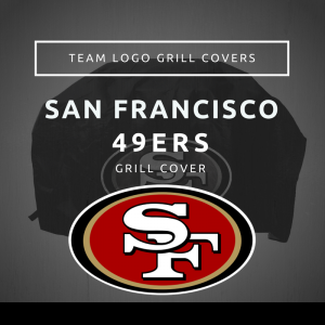 San Francisco 49ers Team Logo Grill Covers