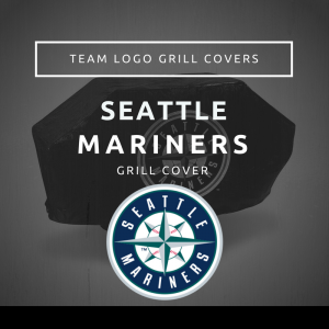 Seattle Mariners Team Logo Grill Covers
