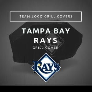 Tampa Bay Rays Team Logo Grill Covers