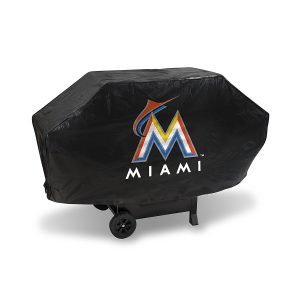 Team Logo Grill Covers, Miami Marlins