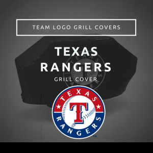 Texas Rangers Team Logo Grill Covers
