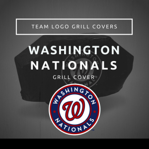 Washington Nationals Team Logo Grill Covers